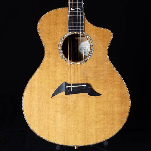 Used Breedlove Masterclass Flame Maple Sitka Spruce Acoustic Electric Guitar W/ OHSC
