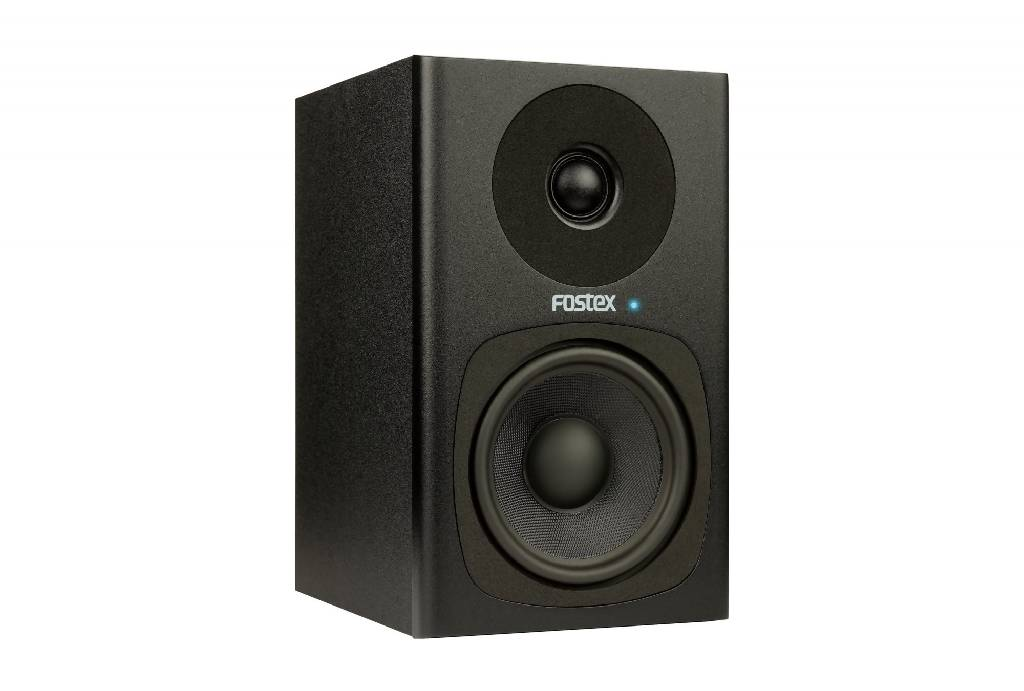 "Fostex (PAIR) Black 4"" 2-way Powered Studio Monitors PM04C-B"
