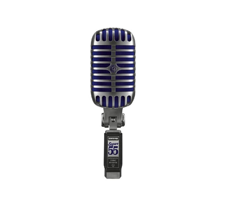 Shure Super 55 Vintage-Inspired Vocal Microphone