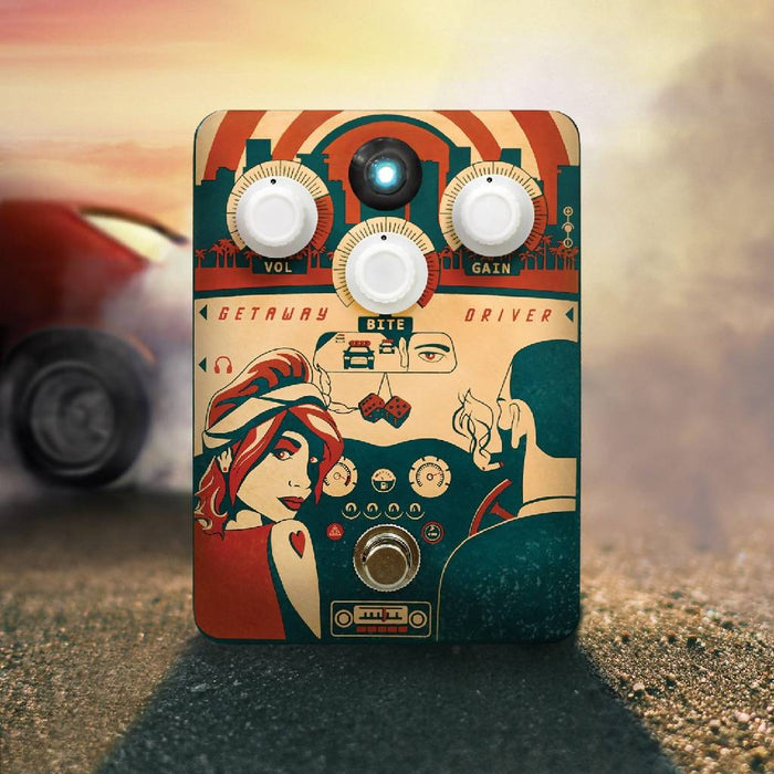 Orange Getaway Driver Overdrive Guitar Pedal 70's amp in a box Free shipping in the USA!