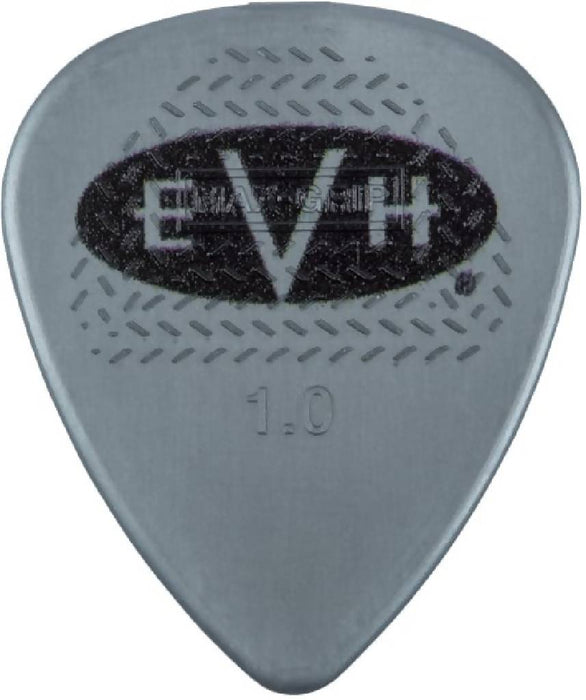 EVH Gray / Black 1.0mm Guitar Picks 0221351605 Eddie Van Halen Signature guitar picks