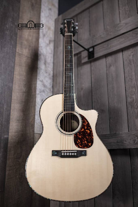 Larrivee LV-10 Deluxe Series Indian Rosewood Acoustic Guitar w/Anthem No-Cut & Moon Spruce