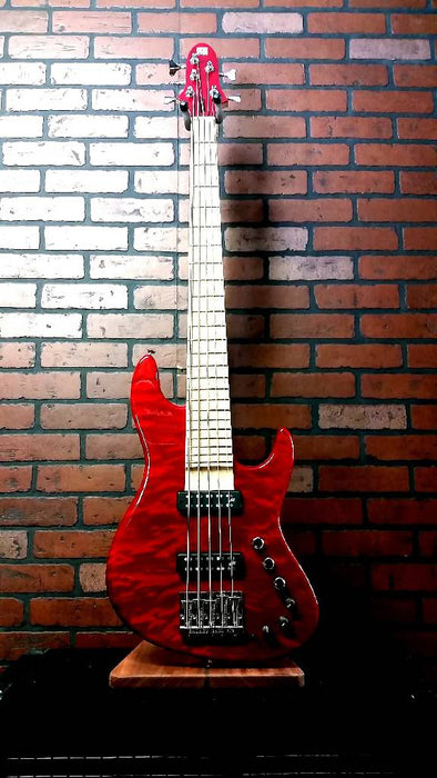 MIURA MB-1 five-string bass 5 Quilt Maple
