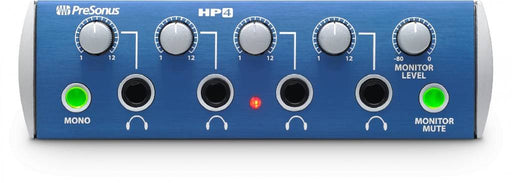 PreSonus HP4 High Output 4 Channel Headphone Distribution Amplifier