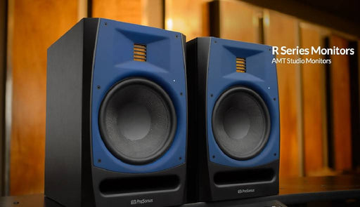 "Presonus R80 150W Active 2-way Studio Monitor with 8"" Kevlar Woofer and 6.8"" AMT Ribbon Tweeter"