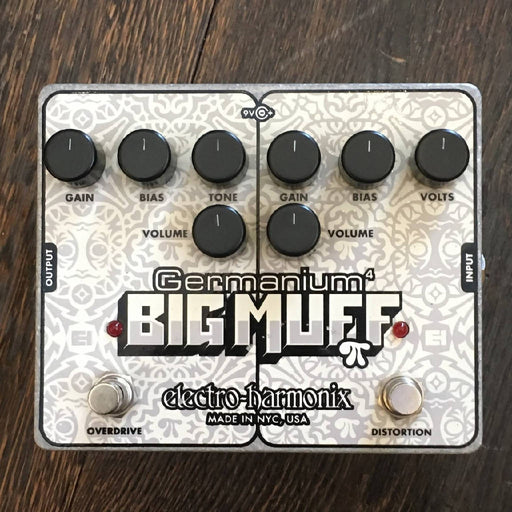 Used Electro-Harmonix Germanium 4 Big Muff Pi Distortion/Overdrive Guitar Effect Pedal With Box