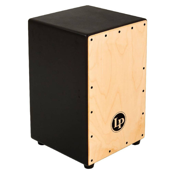 Latin Percussion LP1426 Adjustable Snare Cajon 2010s Black/Natural Free Shipping in the USA! LP 1426