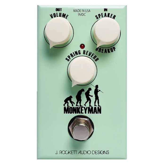 J. Rockett Monkey Man Classic Tweed Spring Reverb