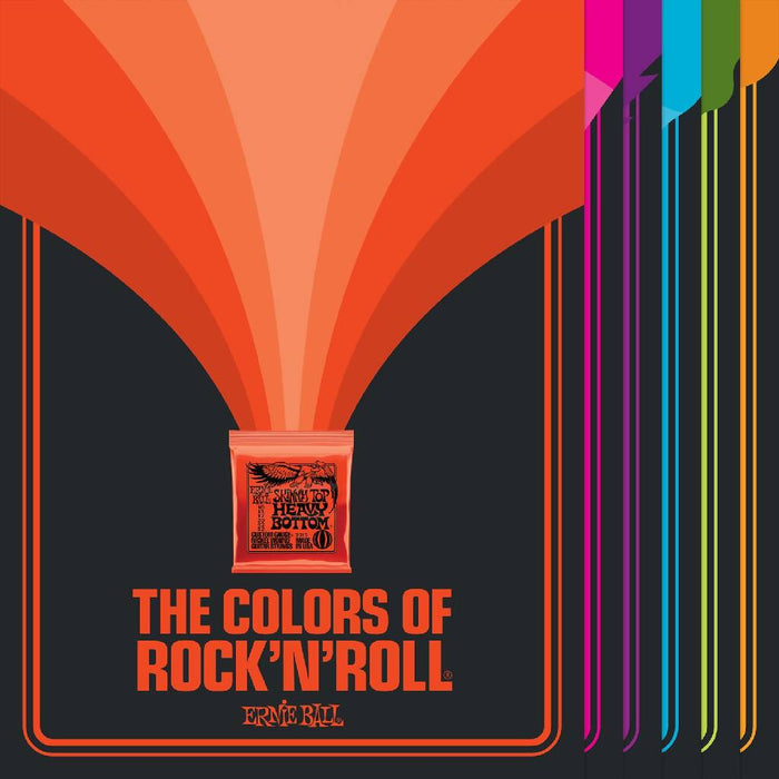 Ernie Ball Colors of Rock 'N' Roll Poster Set