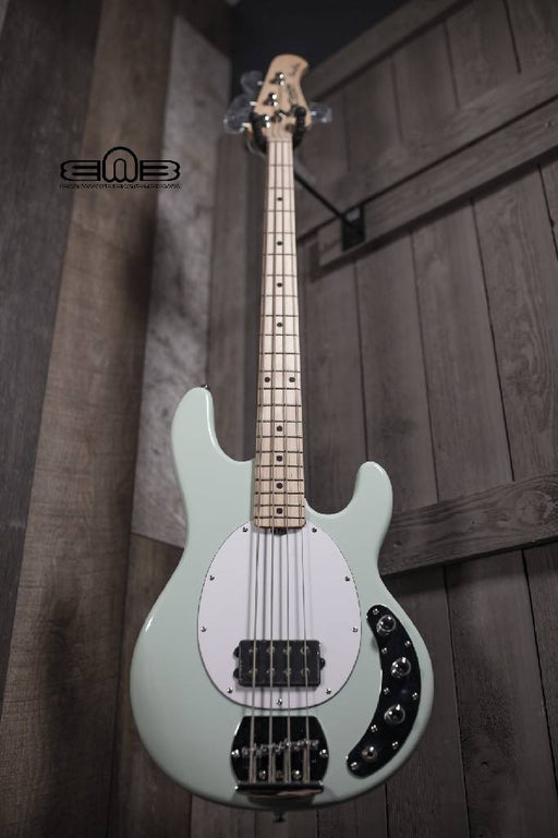 Sterling by Music Man StingRay 4 String Bass Guitar in Mint Green RAY4-MG-M1