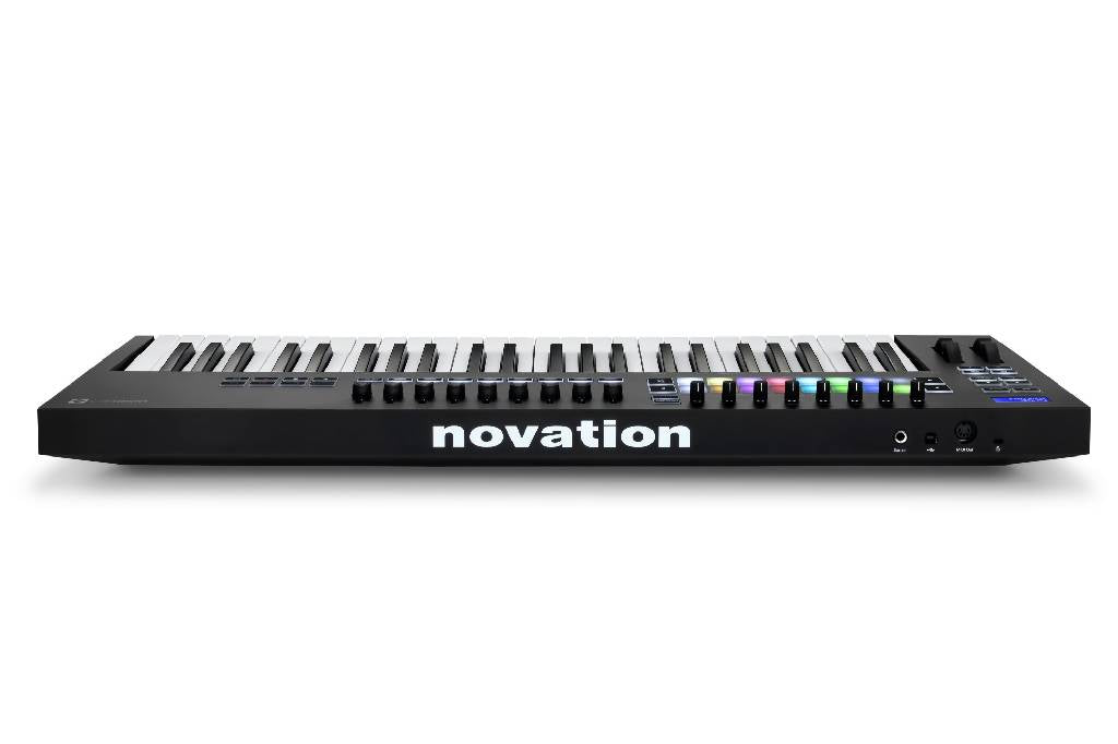 Novation Launchkey 49 mk3 MIDI Ableton Live Music Keyboard Controller w/ Pads (works with Logic, Garageband, Studio One and more!)
