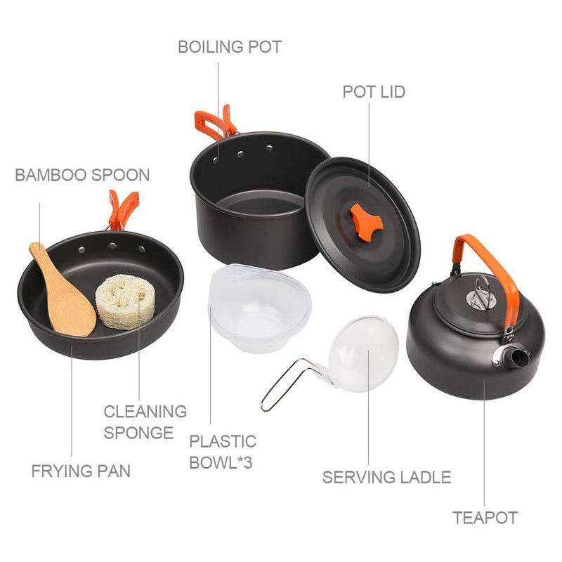 Camping Cookware Kit