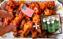 Load image into Gallery viewer, NFL Wings & Beer Box