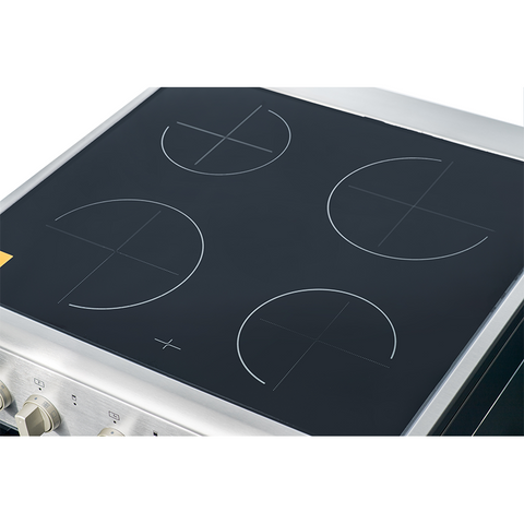Midea 60cm Ceramic Cooktop Freestanding Stove 24DME4R109 - Midea | Home Appliances New Zealand