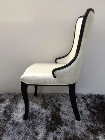Classy Dining Chair, White C1336
