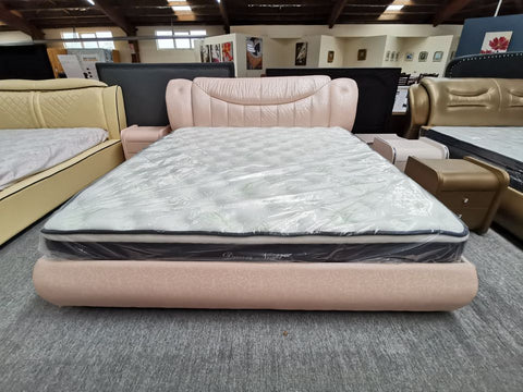 Brand New Super king Leather Bed Clearance Sale