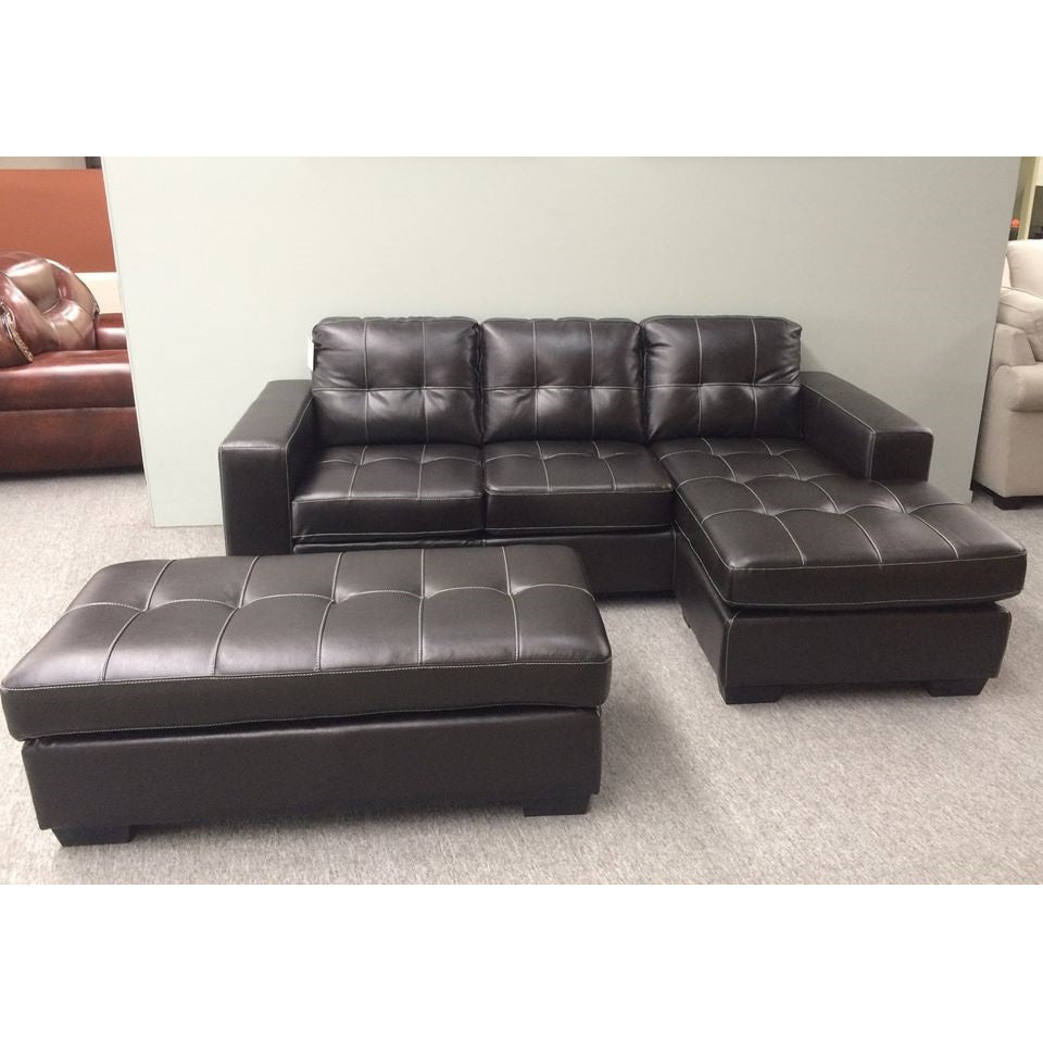 Corner Lounge Suite with Ottoman Sofa Bed Optional (Jordan)