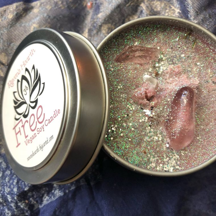 FREE CLEANSING CANDLE