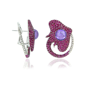 Interwind Diamond Studs