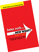 Sales suck... NOW WHAT?