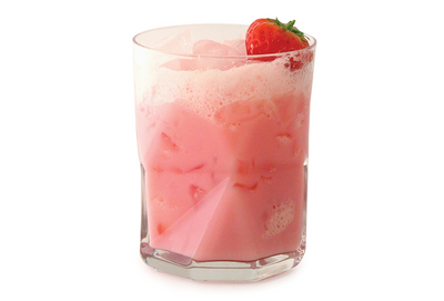 Strawberries & Cream Vodka Cocktail