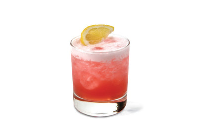 Rhubarb & Ginger Flavoured Vodka Sour