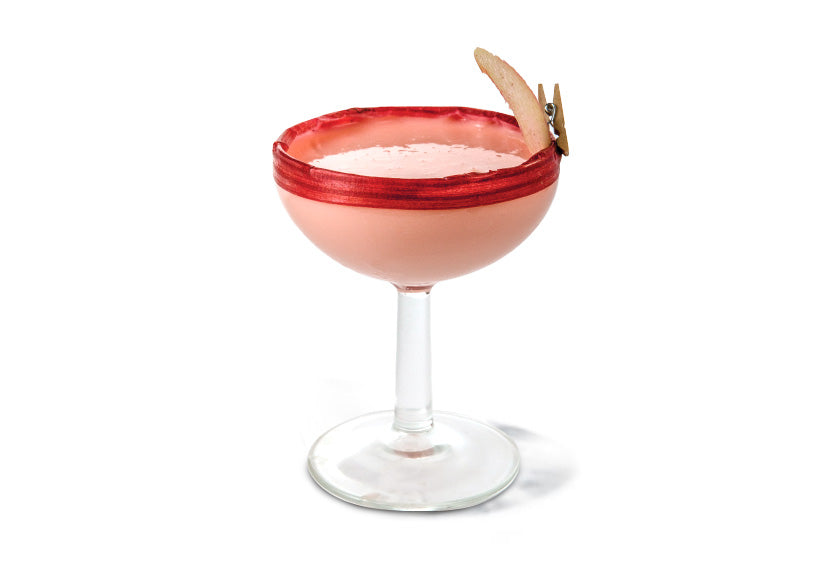Rhubarb & Ginger Martini