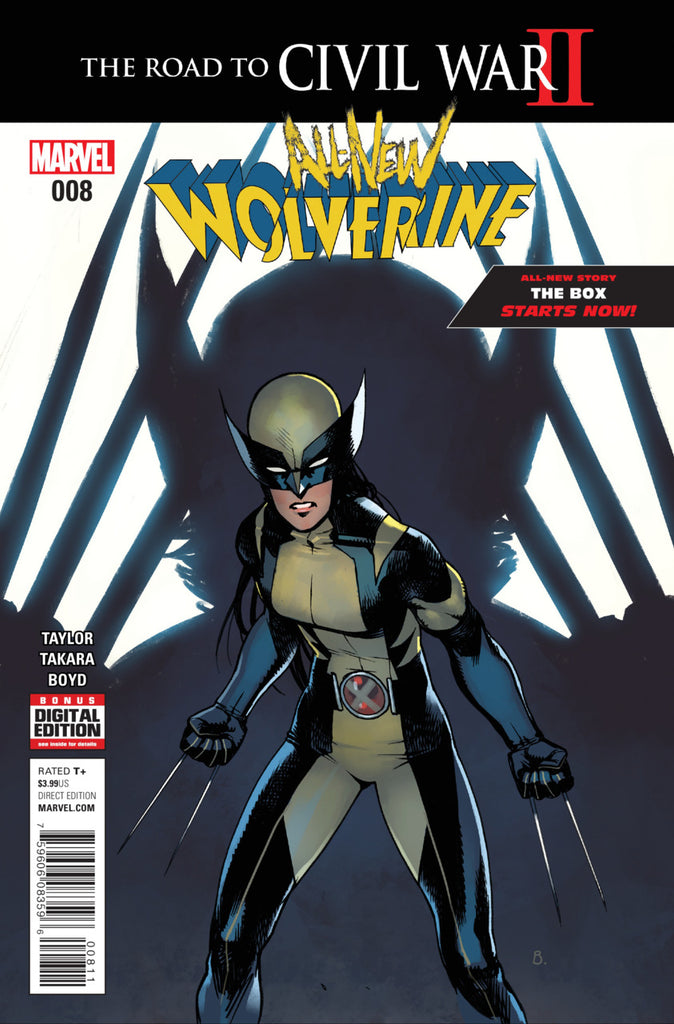 All-New Wolverine (2016) #08