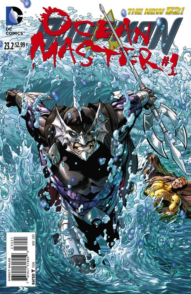 Aquaman (2011) #23.2 Lenticular + Regular Cover Pack