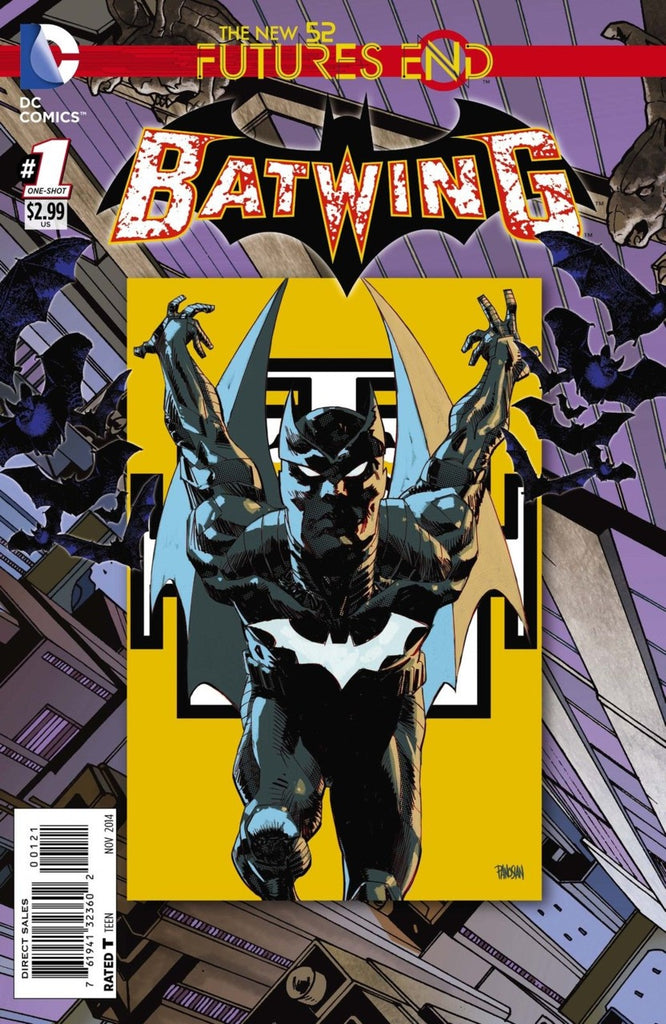 Batwing: Futures End #1 Lenticular + Regular Cover Pack