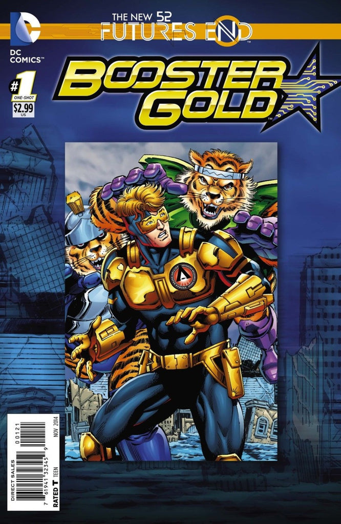 Booster Gold: Futures End #1 Lenticular