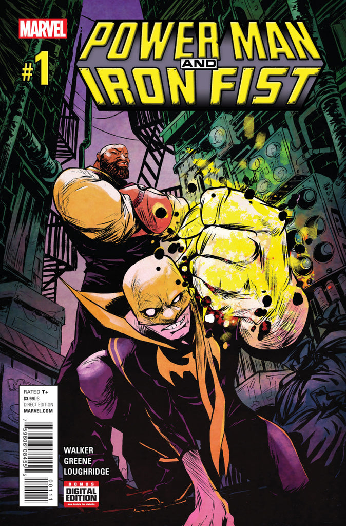Marvel - Power Man and Iron Fist (2016) #1
