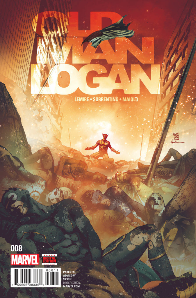 Marvel - Old Man Logan (2016) #8 1st Print