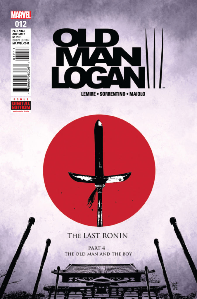 Marvel - Old Man Logan (2016) #12 1st Print
