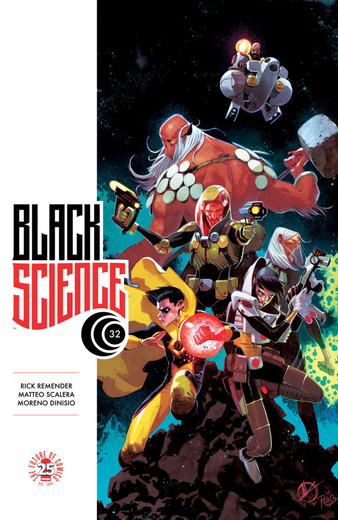 Black Science #32A