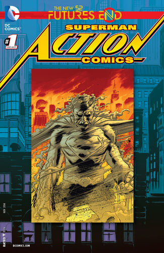 Action Comics (2011): Futures End Lenticular + Regular Cover Pack