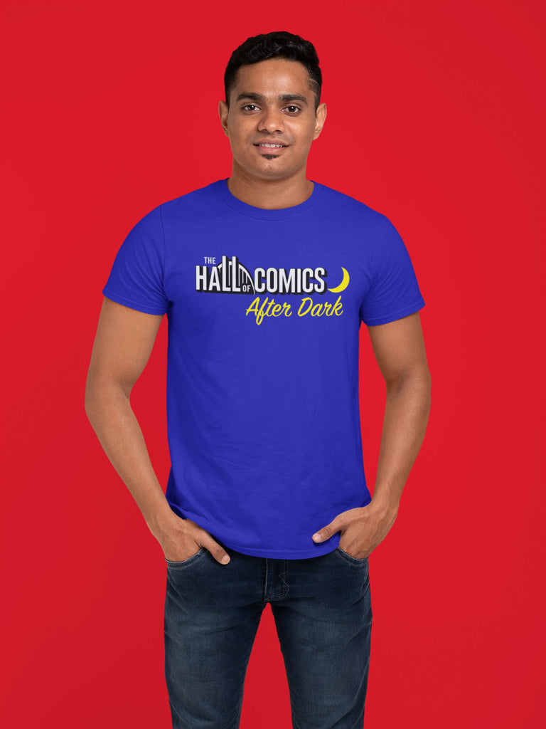 """The Hall of Comics After Dark"" Glow-in-the-Dark T-Shirt"