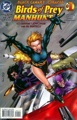 Birds of Prey Manhunt 4x Set