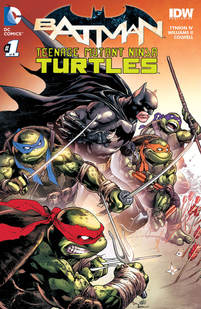 Batman/Teenage Mutant Ninja Turtles #01 Variant