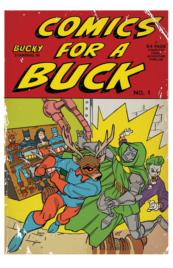 Comics for a Buck Limited Print w/BCW Top Loader