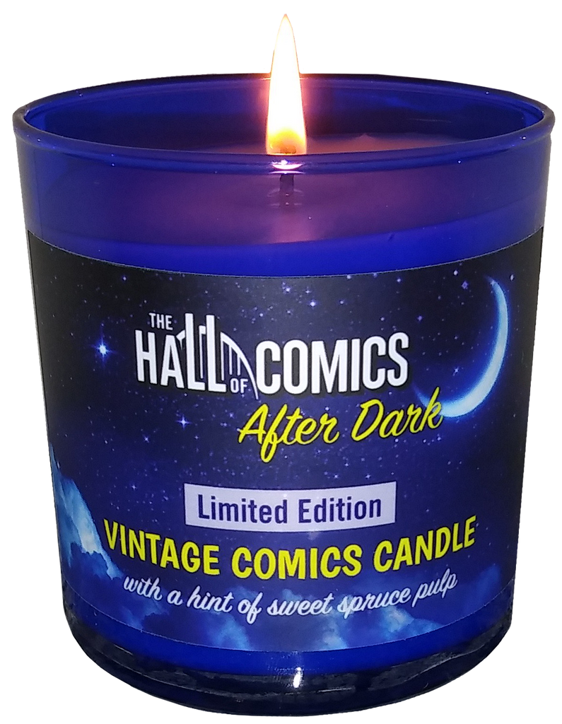Hall of Comics After Dark Candle