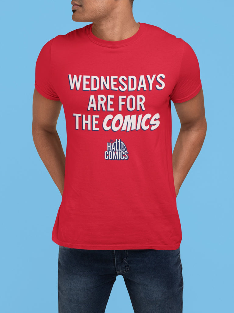 """Wednesdays are for the Comics"" T-Shirt"