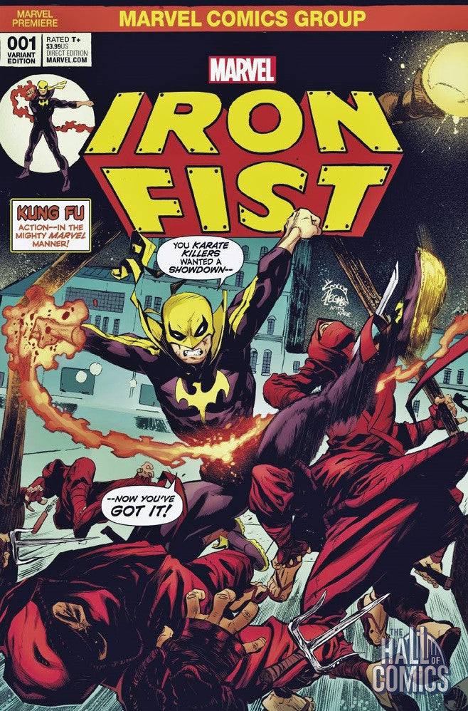 Iron Fist #1 (Cvr A) Exclusive Color Variant Cover
