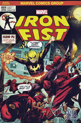 Marvel - Iron Fist #1 (Cvr A) The Hall of Comics/CBCS Ryan Stegman Exclusive Color Variant Cover