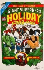 Deck The Hall w/Craig Exclusive 2015 Limited Print w/BCW Top Loader