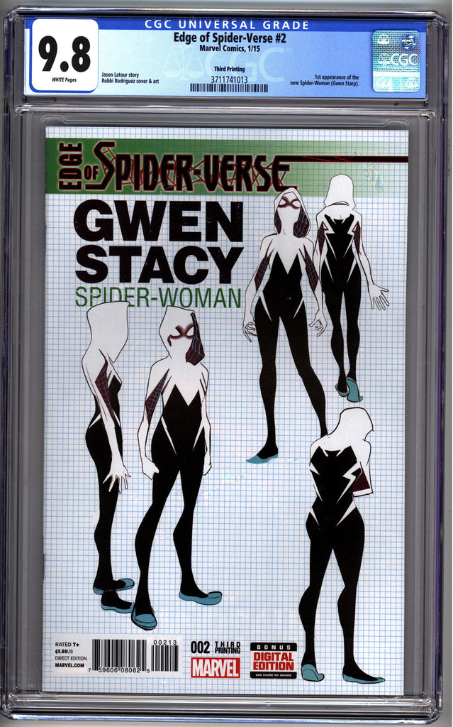 Edge of Spider-Verse (2015) #02 - 3rd Print