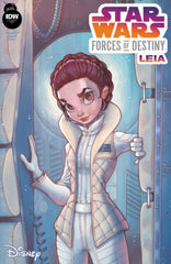 Star Wars Forces of Destiny #1 Leia Variant Cover