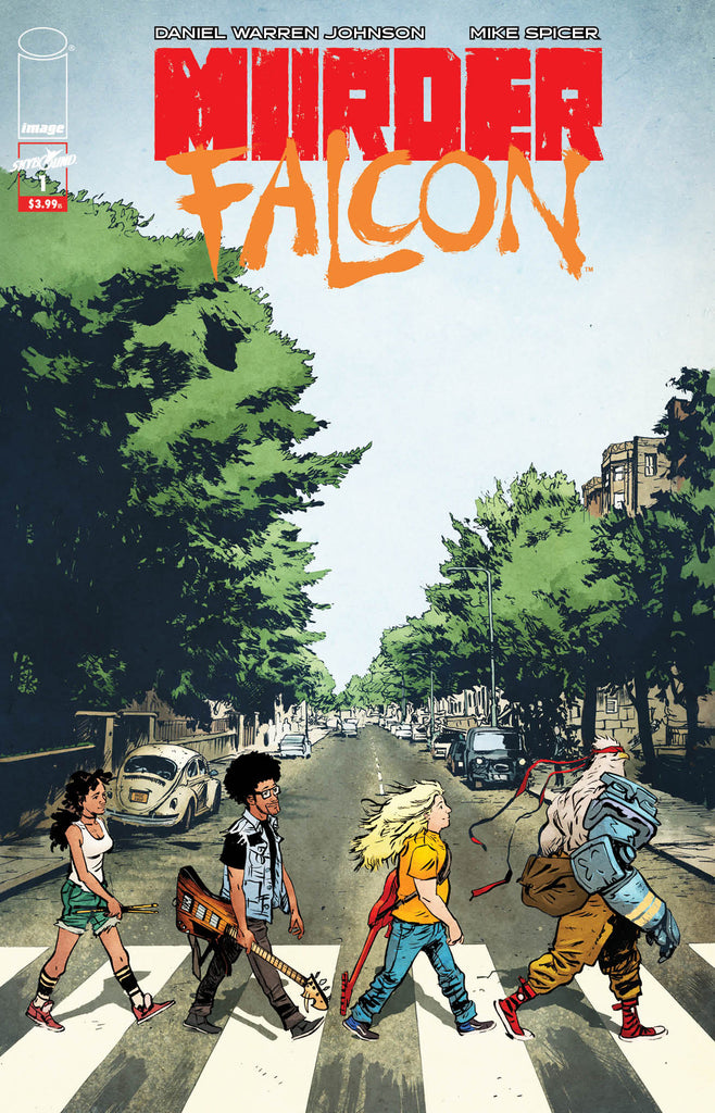 "Murder Falcon #1 - Beatles ""Abbey Road"" Homage Variant"