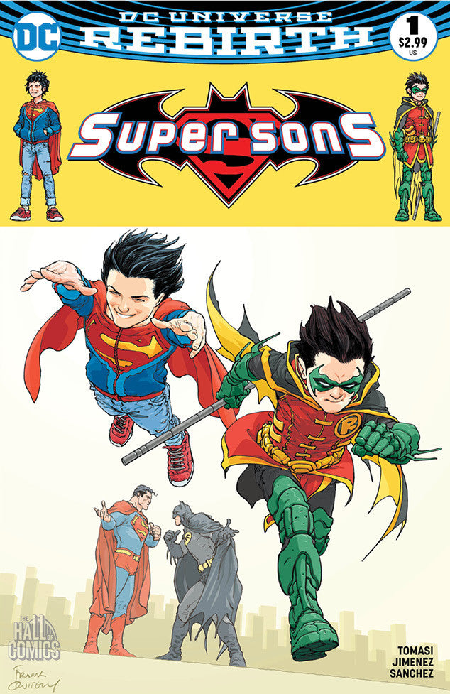 DC Comics - Super Sons #1 (Cvr A) Hall of Comics/CBCS Exclusive Frank Quitely Variant Cover