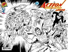 Action Comics #1000 - DF Wraparound Variant